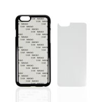 Чехол для IPhone 6 пластик черный со вставкой стандарт