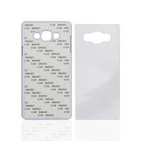 Чехол для Samsung A7, пластик белый со вставкой стандарт