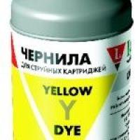 Чернила для Epson LE08-001Y желтый, 100 мл.