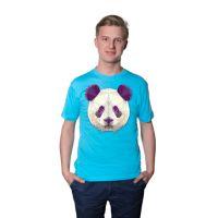 Футболка мужская, материал хлопок, цвет голубой, размер 42 (XS)