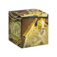 Коробка под кружку дизайн путешествие