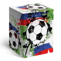Коробка под кружку Мяч (пивная 500мл)
