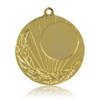 Медаль HB089 золото D50мм, D вкладыша 25мм