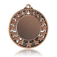 Медаль HB103 бронза D50мм, D вкладыша 30мм