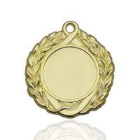 Медаль корпусная MK142a золото D медали 43мм, D вкладыша 25мм