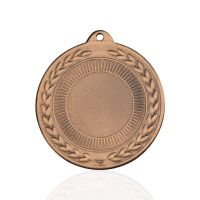 Медаль корпусная MK226c бронза D медали 50мм, D вкладыша 25мм