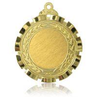 Медаль Zj-M745 золото D70мм, D вкладыша 40мм