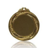 Медаль Zj-M759 золото D65мм, D вкладыша 45мм, задний вкладыш 40мм
