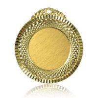 Медаль Zj-M760 золото D65мм, D вкладыша 40мм