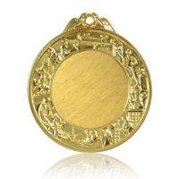 Медаль Zj-M764 золото D65мм, D вкладыша 40мм