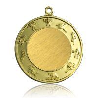 Медаль Zj-M781 золото D65мм, D вкладыша 40мм